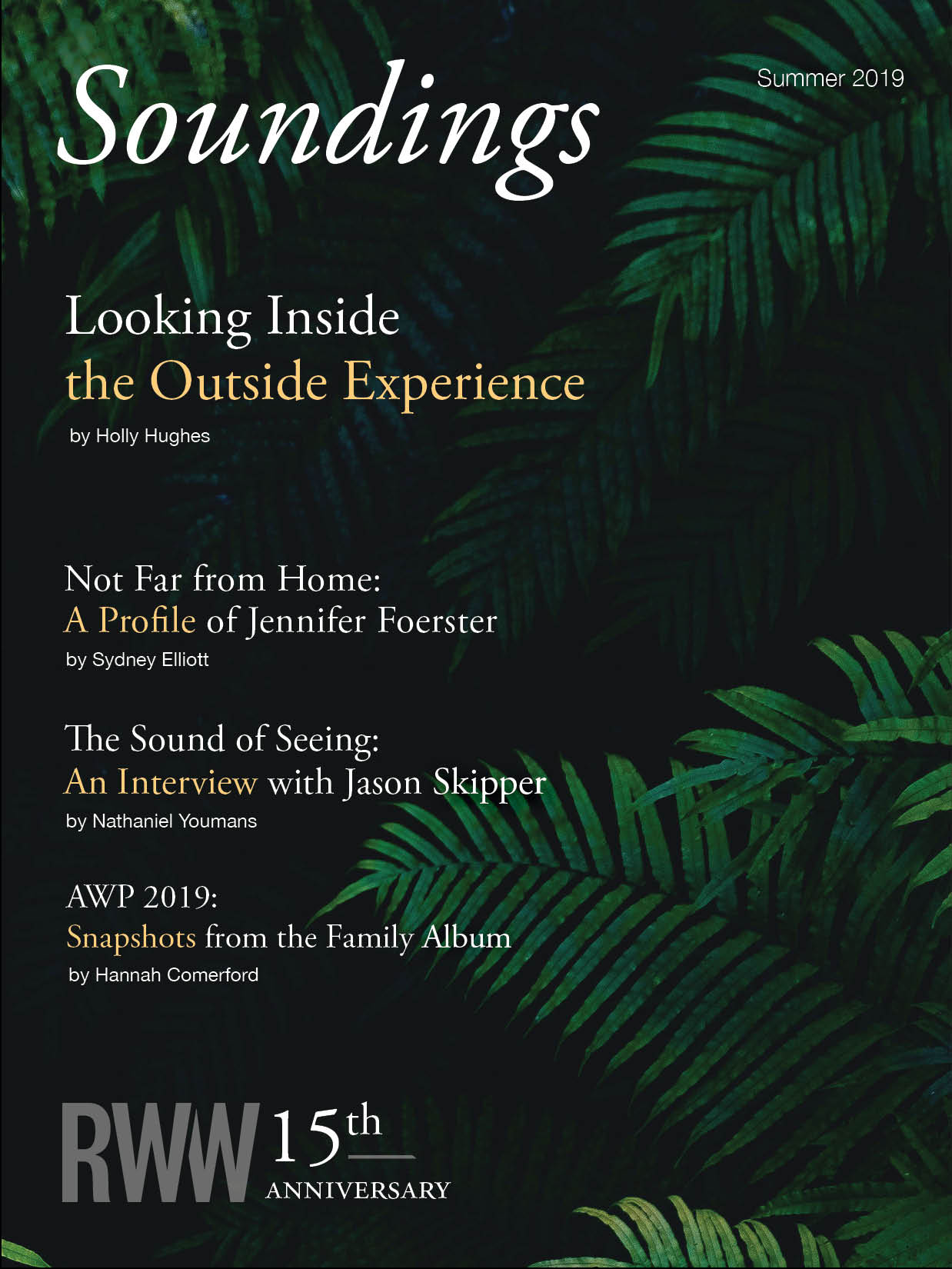 Soundings Summer 2019